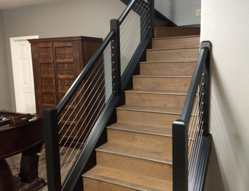 Project Profile|Indoor Project|Residential Construction|Staircase Remodel